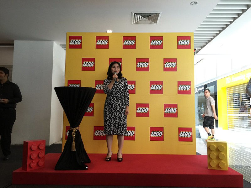 Ms Dan Luo, Managing Director of LEGO Singapore