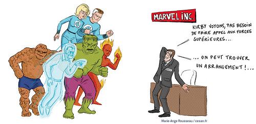 Marvel associe de nouveau le nom de Jack Kirby à ses créations, par Marie-Ange Rousseau