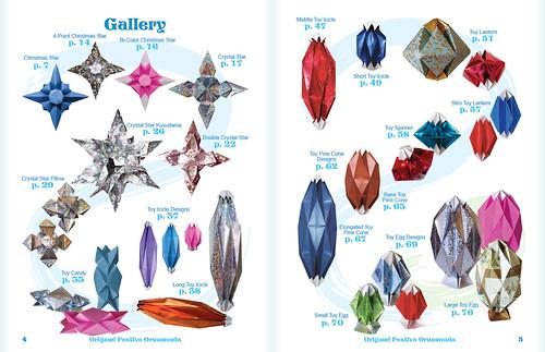 Origami Festive Ornaments Book!