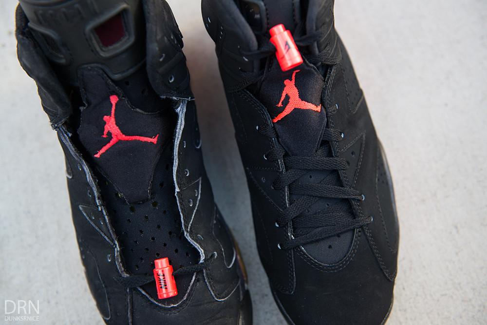 1991 & 2014 Black Infrared VI's.