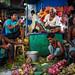 Flower Market at Night - Kolkata, India by Maciej Dakowicz