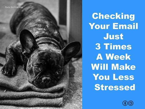 Checking Your Email Just Three Times A Week Will Make You Less Stressed