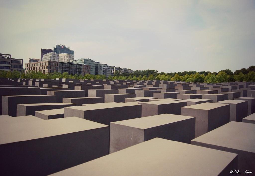 Around Berlin (7) Memorial conmemorativo a los Judíos Asesinados de Europa
