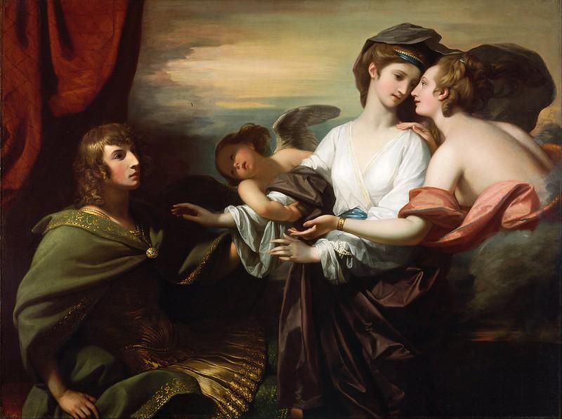 Benjamin West - Helen Brought to Paris (1776)