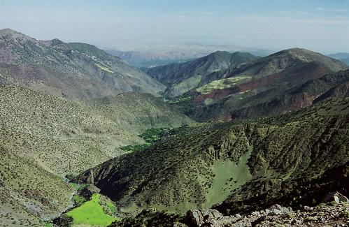 africa mountains trekking trek northafrica morocco fields refuge highatlas toubkel tizioussem tazagharterefuge