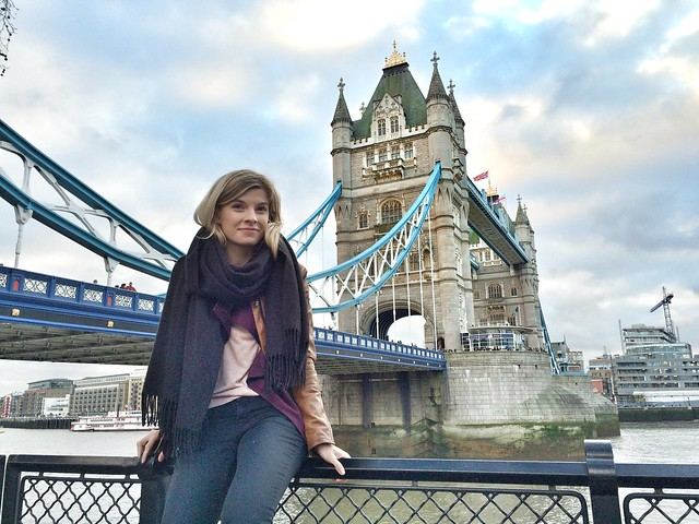 annika lontoo tower bridge