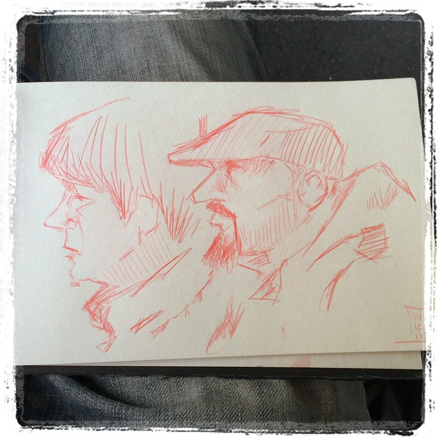 #train #urbansketch #uni #kurutoga #pencil