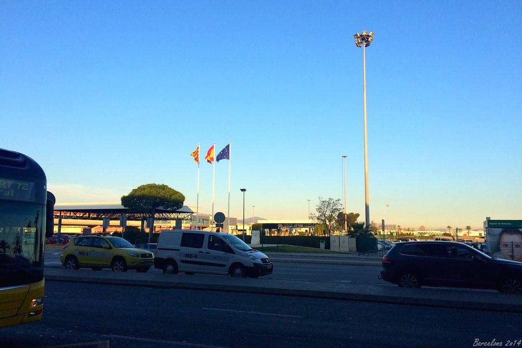 Barcelona day_1, Airport El Prat