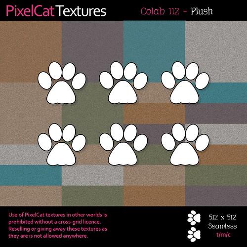 PixelCat Textures - Colab 112 - Plush