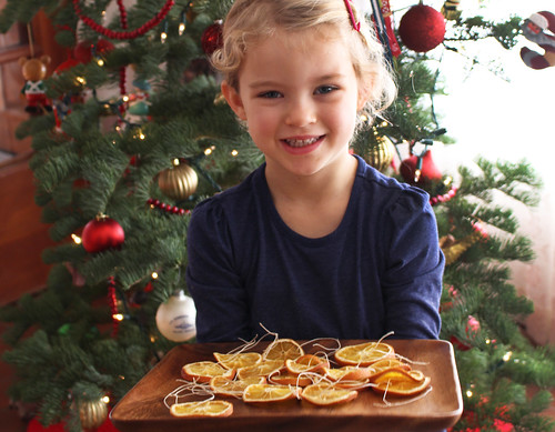 Orange Slices Ornaments