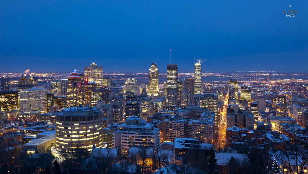 Montréal Blue Hour