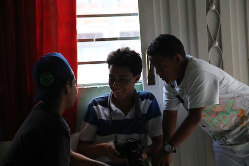 Luis, Santiago y Darwin