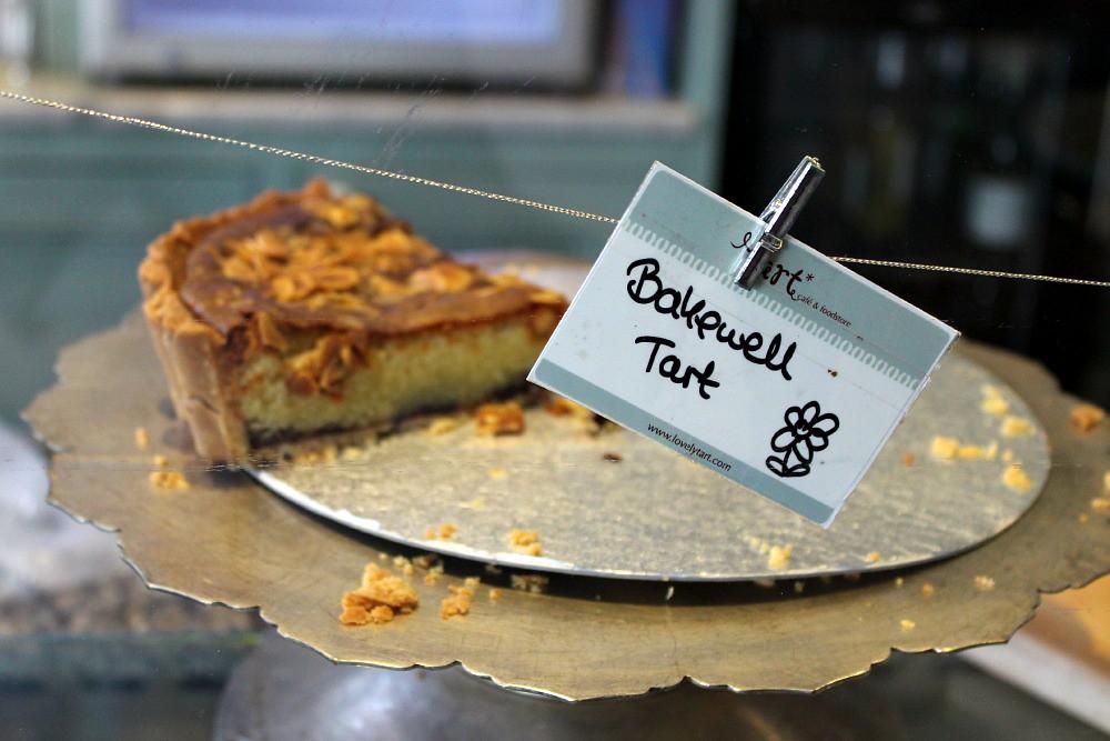 Tart Patisserie Gloucester Road Bristol bakewell tart