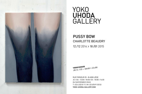Charlotte Beaudry 2014 | Pussy Bow at Yoko Uhoda Gallery