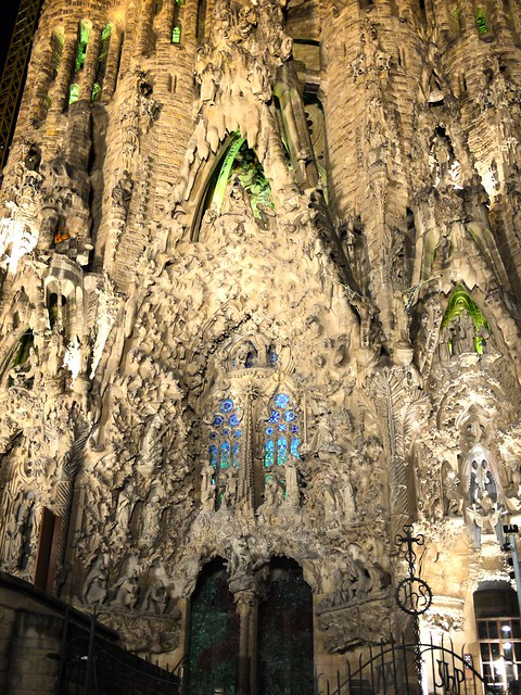 Spain Barcelona La Sagrada Familia appearance