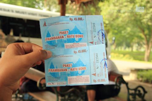 Karcis Masuk Paket Candi Prambanan - Ratu Boko