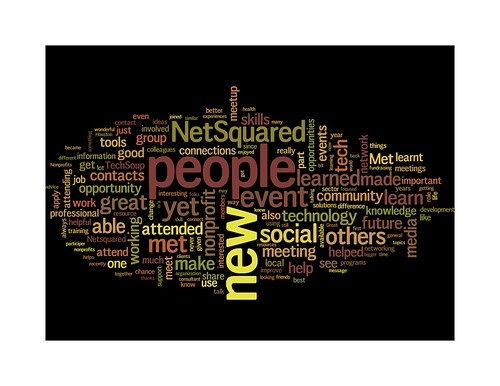 Share how NetSquared has made a difference in your professional or personal life