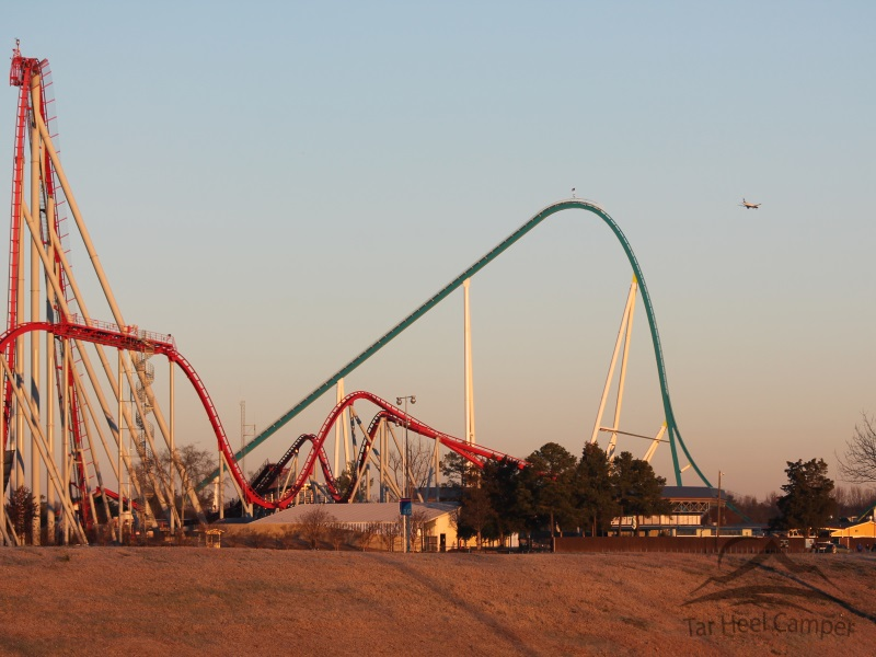 Fury 325 and Intimidator in sunrise
