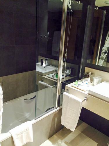 Baño de la habitación 120
