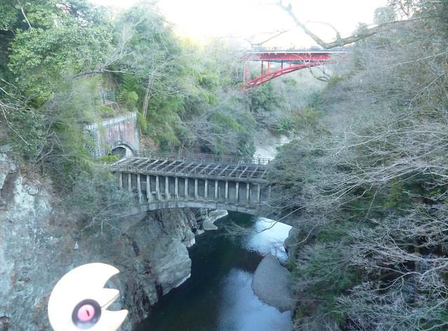 Photo:Lunatone in Otsuki, Yamanashi 1 (Saruhashi bridge) By Kasadera