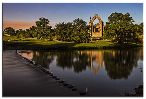 water yorkshire ngc moonlight boltonabbey riverwharfe d600 nikonfxshowcase