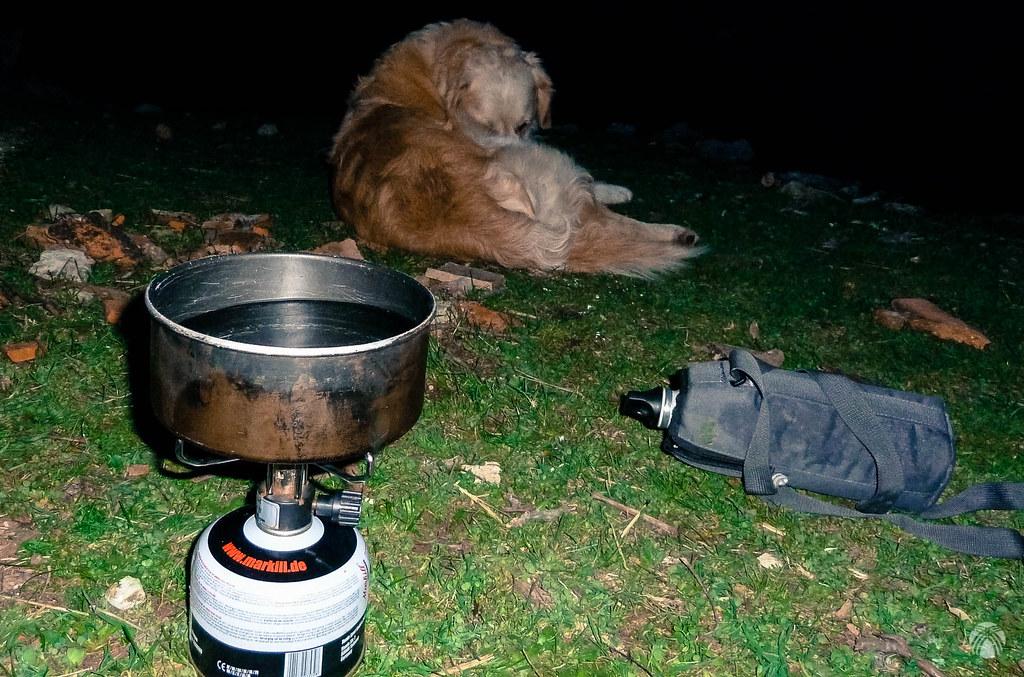 Haciendo la sopa