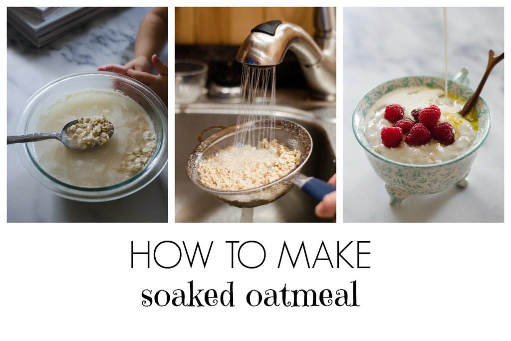 How to Make Soaked Oatmeal