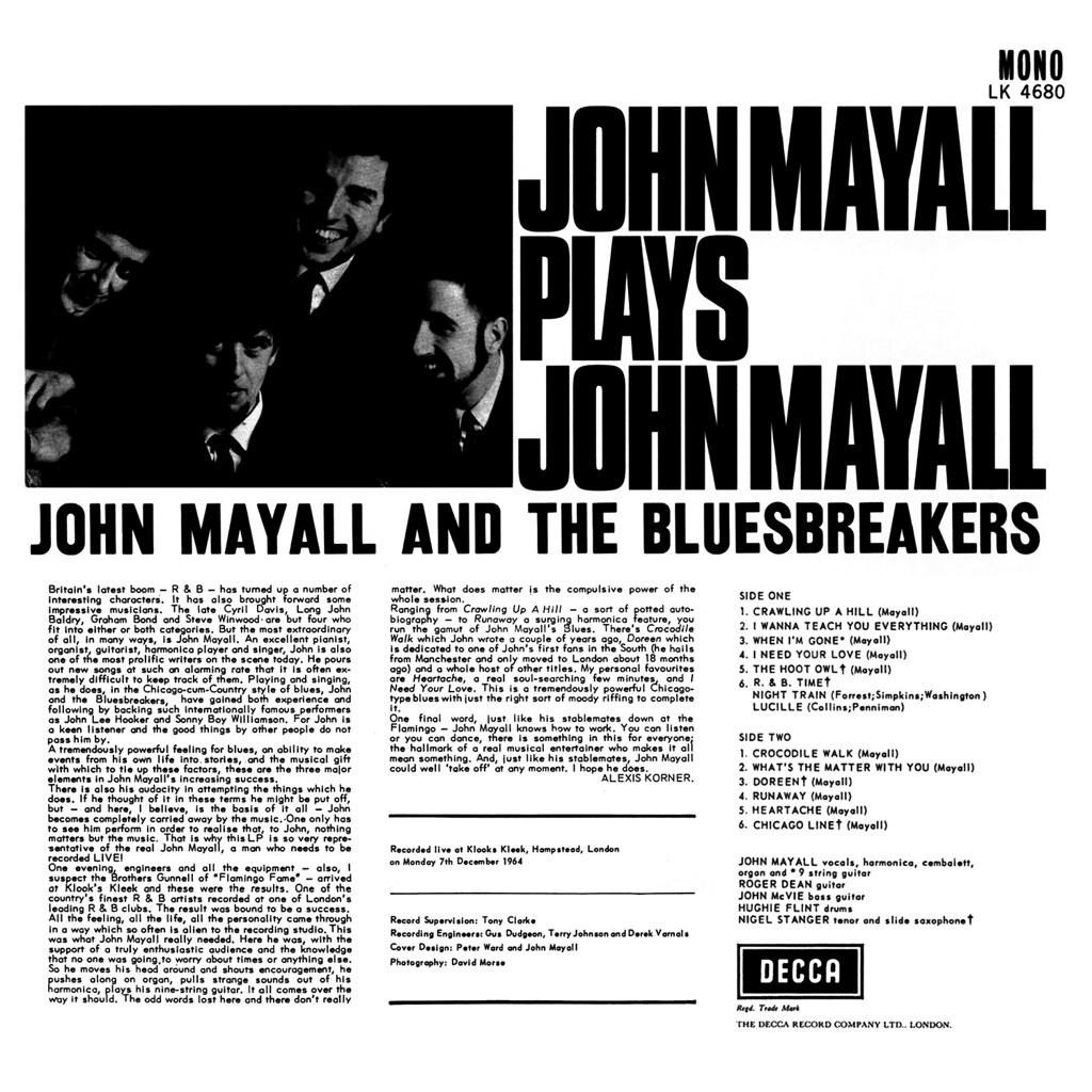 John Mayall | LP Cover Art
