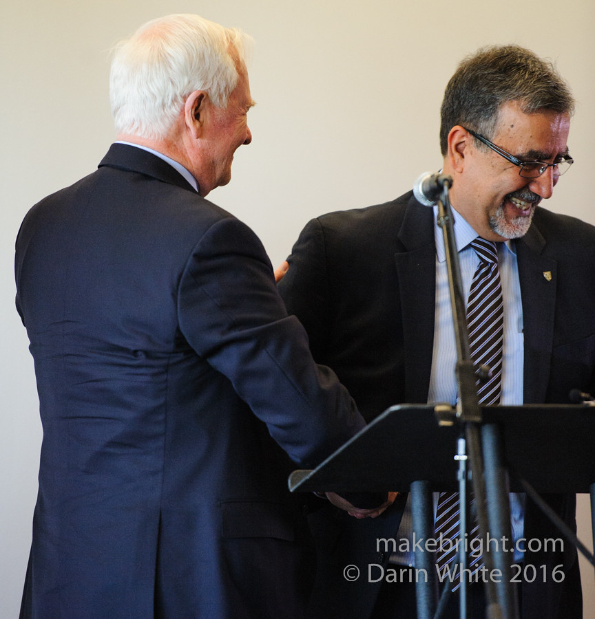 Governor General David Johnston at the AC - May 2016 302