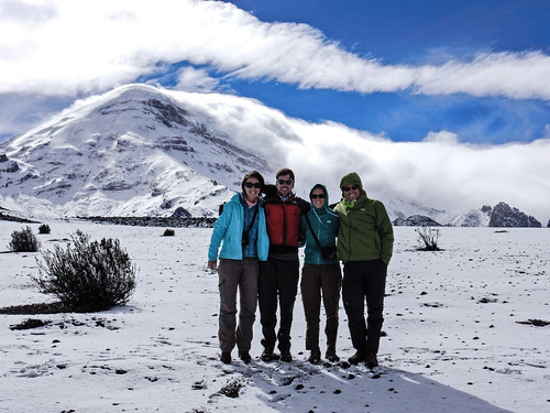 Le volcan Chimborazo