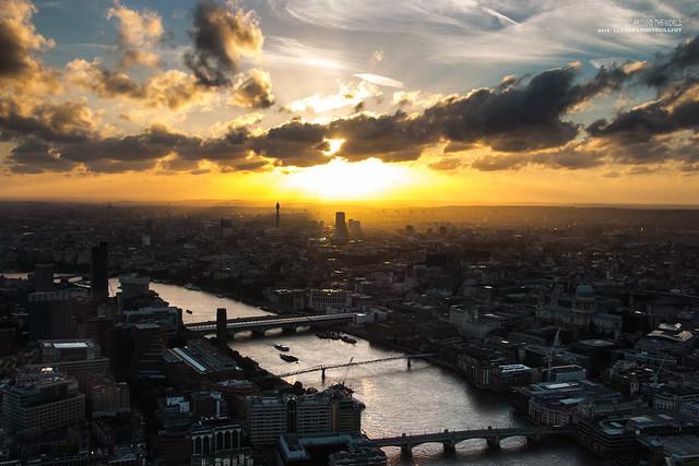 Sunset @London