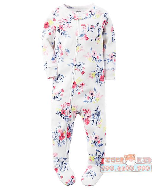 Quần áo trẻ em, bodysuit, Carter, đầm bé gái cao cấp, quần áo trẻ em nhập khẩu, Bodysuit liền quần Carter's nhập Mỹ 12M-18M-24M