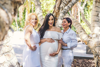 Mother, Mother-in-Law, Daughter, and Son to Be