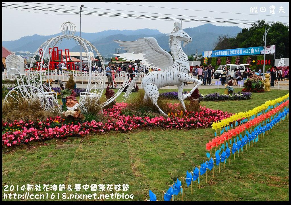 2014新社花海節&臺中國際花毯節DSC_4987
