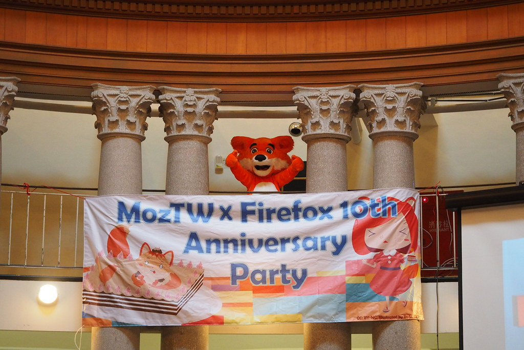 Firefox x Moztw 10th Party