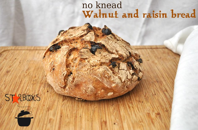 walnut and raisin bread SB