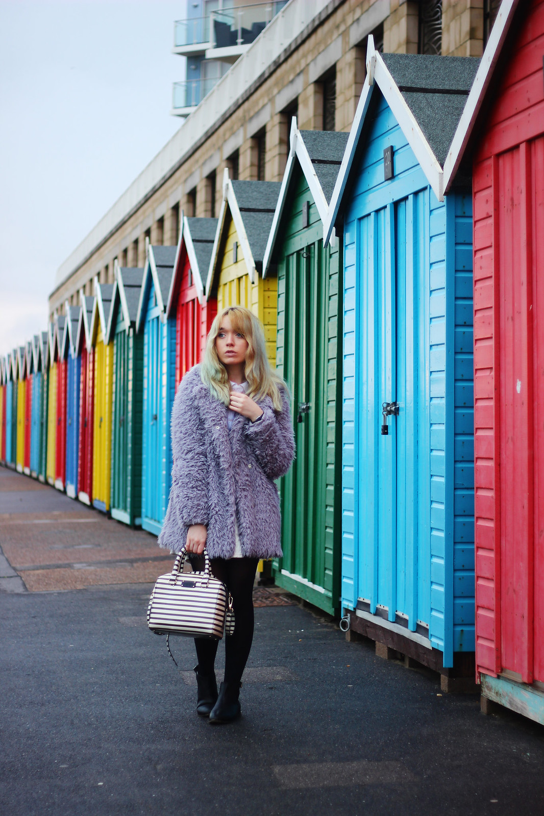1ootd, pastel_outfit, girly, fluffy_coat, blogger_style, trend