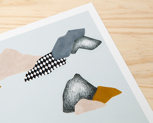 Rocas Print by Depeapa