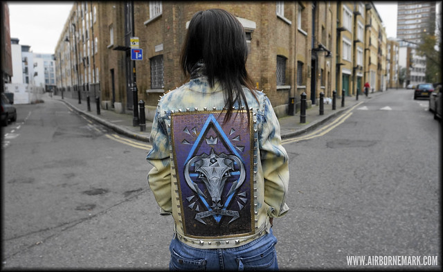 """Origami Capricorn"" Custom Jacket"