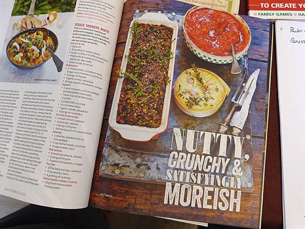 nutty crunchy veggie roast