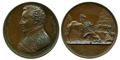 Siege of Acre 1799 Bronze Medal by G Mills