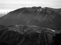 Monte Marsicano domina le creste della Montagnola