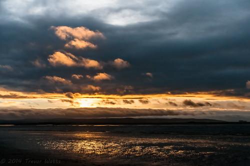 uk sunset england sky coast seaside nikon december sigma somerset gb coastline winterlight burnhamonsea lightroom 2014 18250 d300s