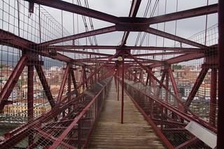 400 Pad op Puente de Vizcaya