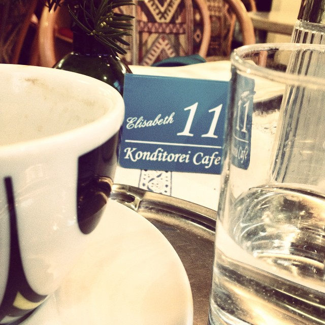 Im Café Elisabeth geht's mir gut © diekremserin