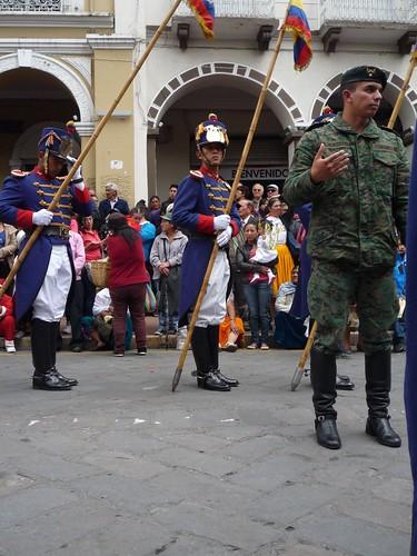 Christmas eve parade -  Cuenca, Ecuador