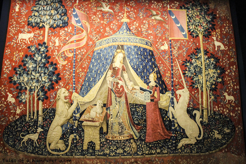 PARIS - Musée national du Moyen Âge (Thermes et hôtel de Cluny) - La Dame à la licorne