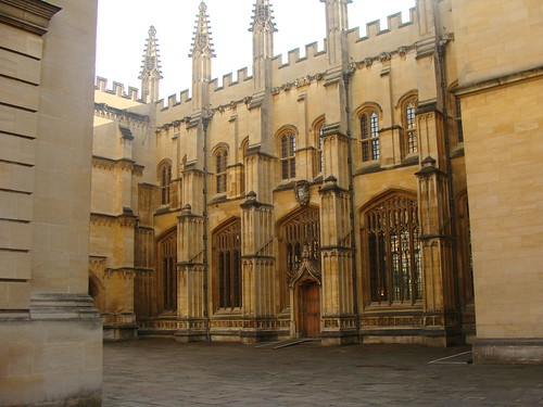 Back of Bodleian Library