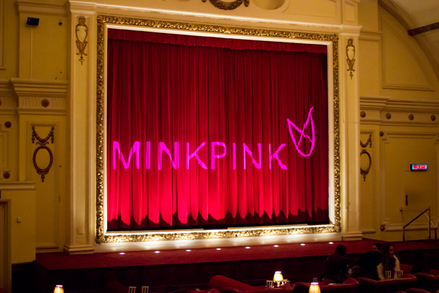 Minkpink event at the Electric Cinema Notting Hill