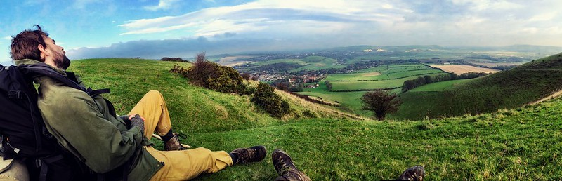 Rest above Lewes